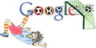 Google Logo: Doodle 4 Google 'I Love Football' National Winner - Afrique du Sud