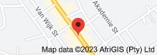 Map of Franschhoek Wine Tram